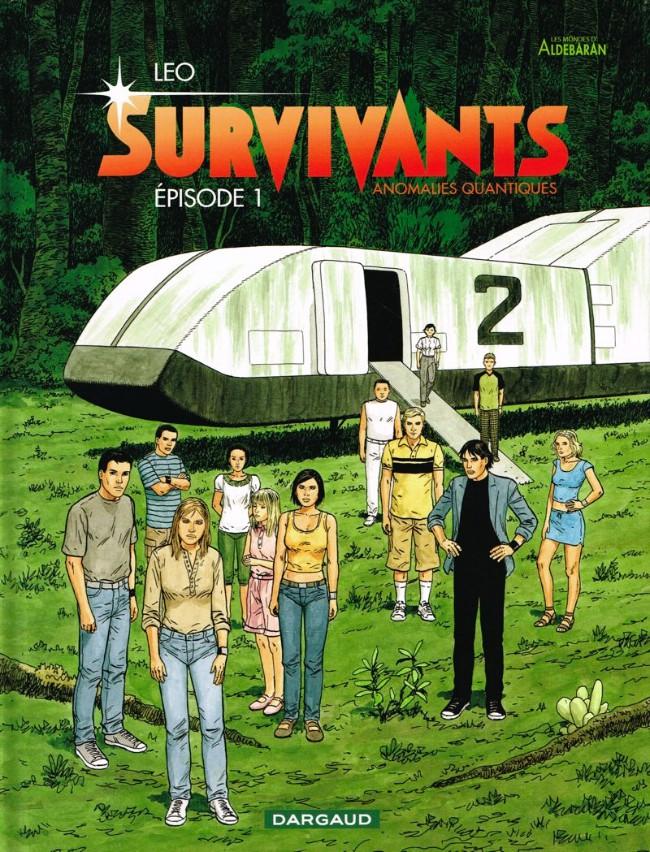 Couverture de Survivants - Anomalies quantiques -1- Épisode 1