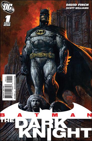 Couverture de Batman: The Dark Knight (2010) -1- Golden dawn Part 1