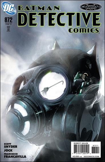 Couverture de Detective Comics (1937) -872- The black mirror part 2
