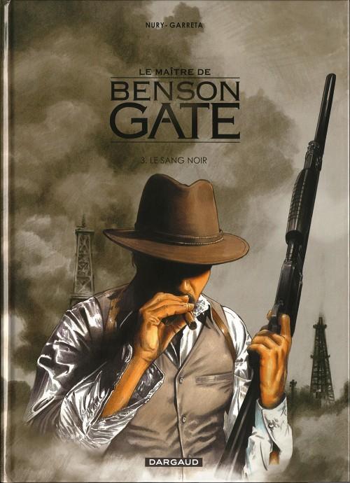 Couverture de Le maître de Benson Gate -3- Le sang noir