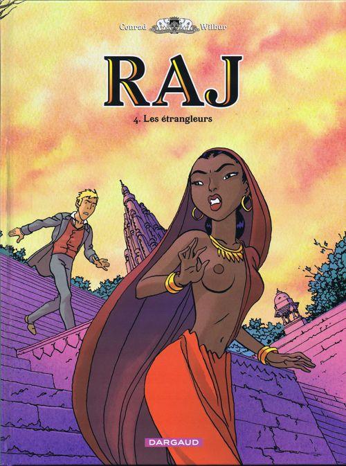 Couverture de RAJ -4- Les étrangleurs