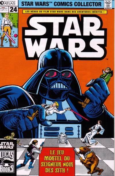 Couverture de Star Wars (Comics Collector) -24- Numéro 24