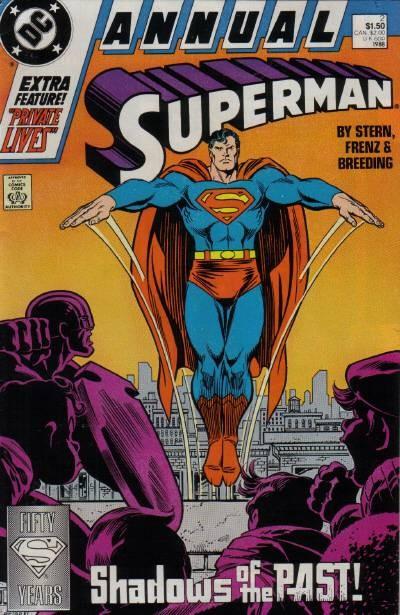 Couverture de Superman (1987) -AN02- The Cadmus project