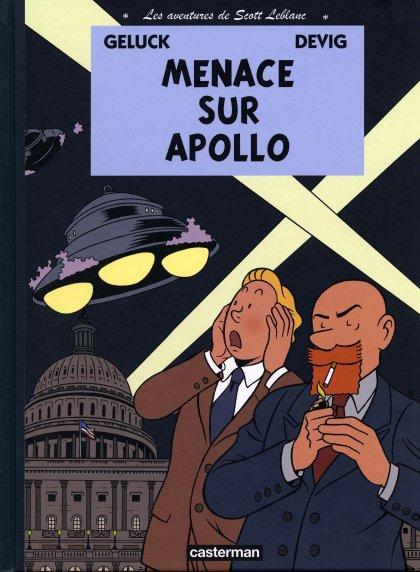 Couverture de Les aventures de Scott Leblanc -2- Menace sur Apollo