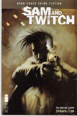 Couverture de Sam and Twitch (1999) -21- The John Doe affair