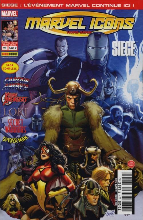 Couverture de Marvel Icons Hors Série -20- Siege