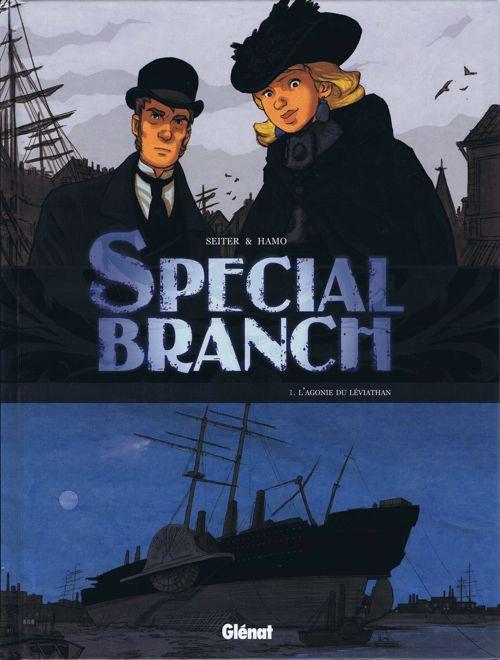 Couverture de Special Branch -1- L'agonie du Léviathan