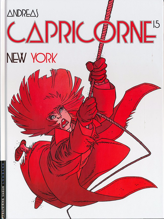 Couverture de Capricorne -15- New York