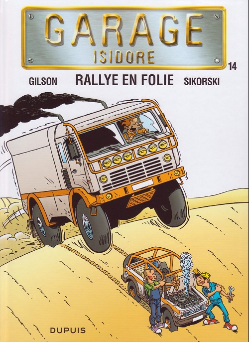 Couverture de Garage Isidore -14- Rallye en folie