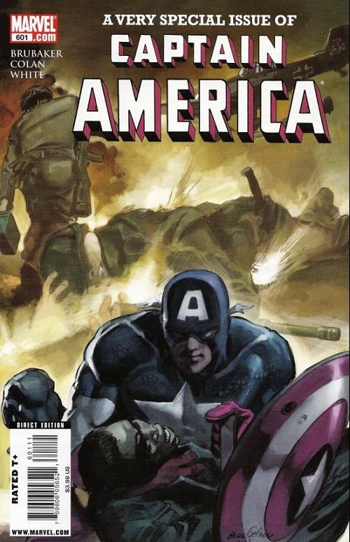 Couverture de Captain America (Marvel comics - 1968) -601- Red, white & blue-blood