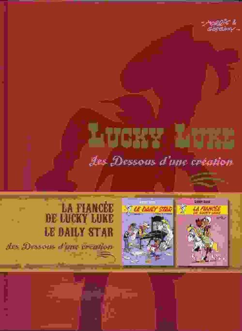 Couverture de Lucky Luke - Les Dessous d'une création (Atlas) -17- Le Daily Star / La Fiancée De Lucky Luke