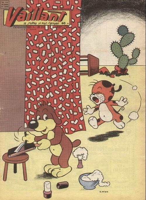 Couverture de Vaillant (le journal le plus captivant) -714- Vaillant
