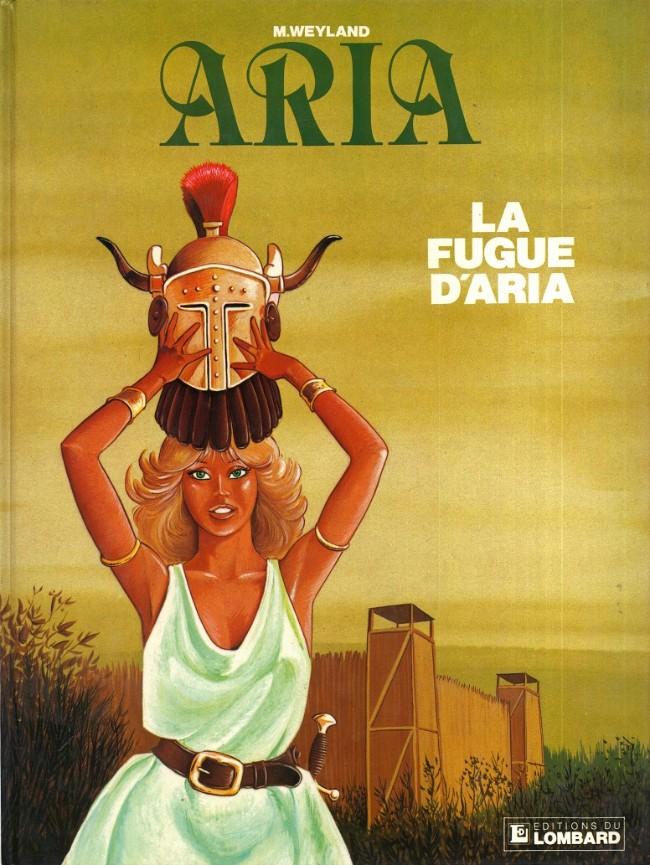 Couverture de Aria -1- La fugue d'Aria