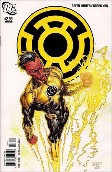 Couverture de Green Lantern Corps (2006) -56- The weaponer part 4
