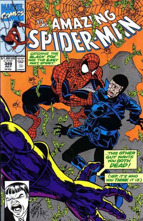 Couverture de The amazing Spider-Man Vol.1 (Marvel comics - 1963) -349- Man of steal!