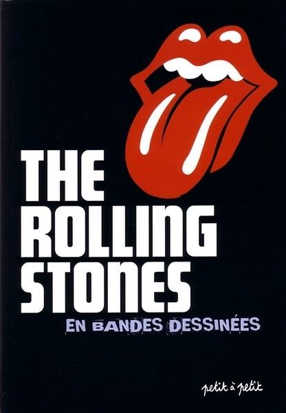 Couverture de Rolling Stones en bandes dessinées (The) - The Rolling Stones en bandes dessinées