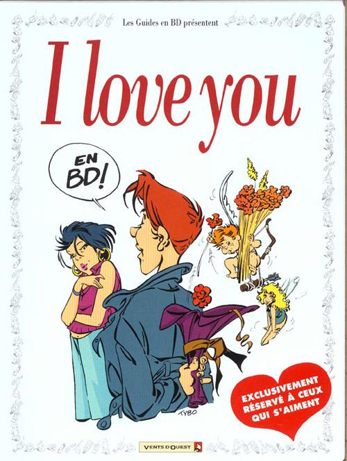 Couverture de Le guide -COF- I love you en BD