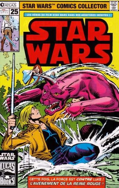 Couverture de Star Wars (Comics Collector) -25- Numéro 25