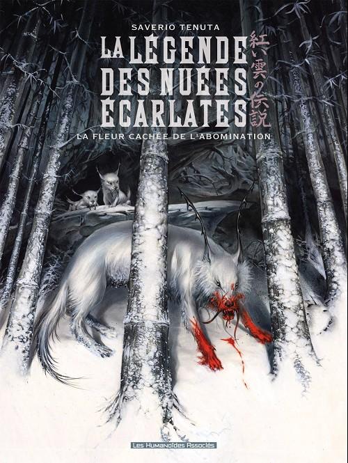 Couverture de La légende des nuées écarlates -4- La fleur cachée de l'abomination