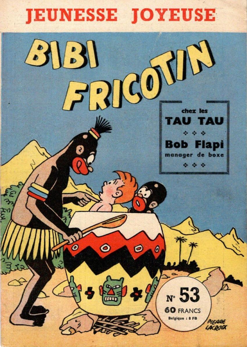 Couverture de Bibi Fricotin (3e Série - Jeunesse Joyeuse) -53- Bibi Fricotin chez les Tau Tau