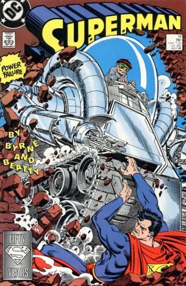 Couverture de Superman Vol.2 (DC comics - 1987) -19- The power that failed