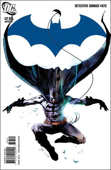 Couverture de Detective Comics (1937) -873- The black mirror part 3