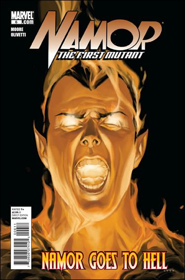 Couverture de Namor: The First Mutant (2010) -6- Namor goes to hell part 1