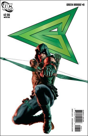 Couverture de Green Arrow (2010) -8- Exorcising the demons
