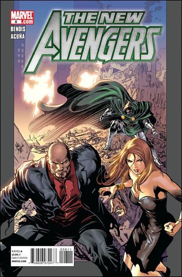 Couverture de New Avengers (The) (2010) -8- Untitled
