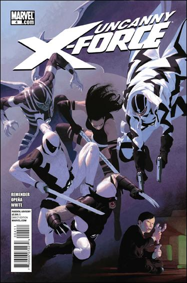 Couverture de Uncanny X-Force (2010) -4- The apocalypse solution part 4