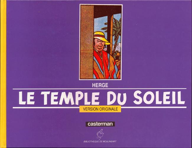 Couverture de Tintin - Divers -14- Le Temple du Soleil