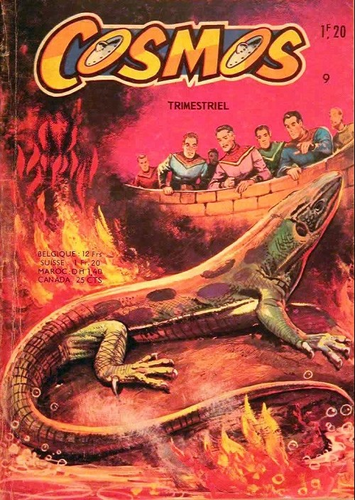 Couverture de Cosmos (2e série) -9- La planète des mirages