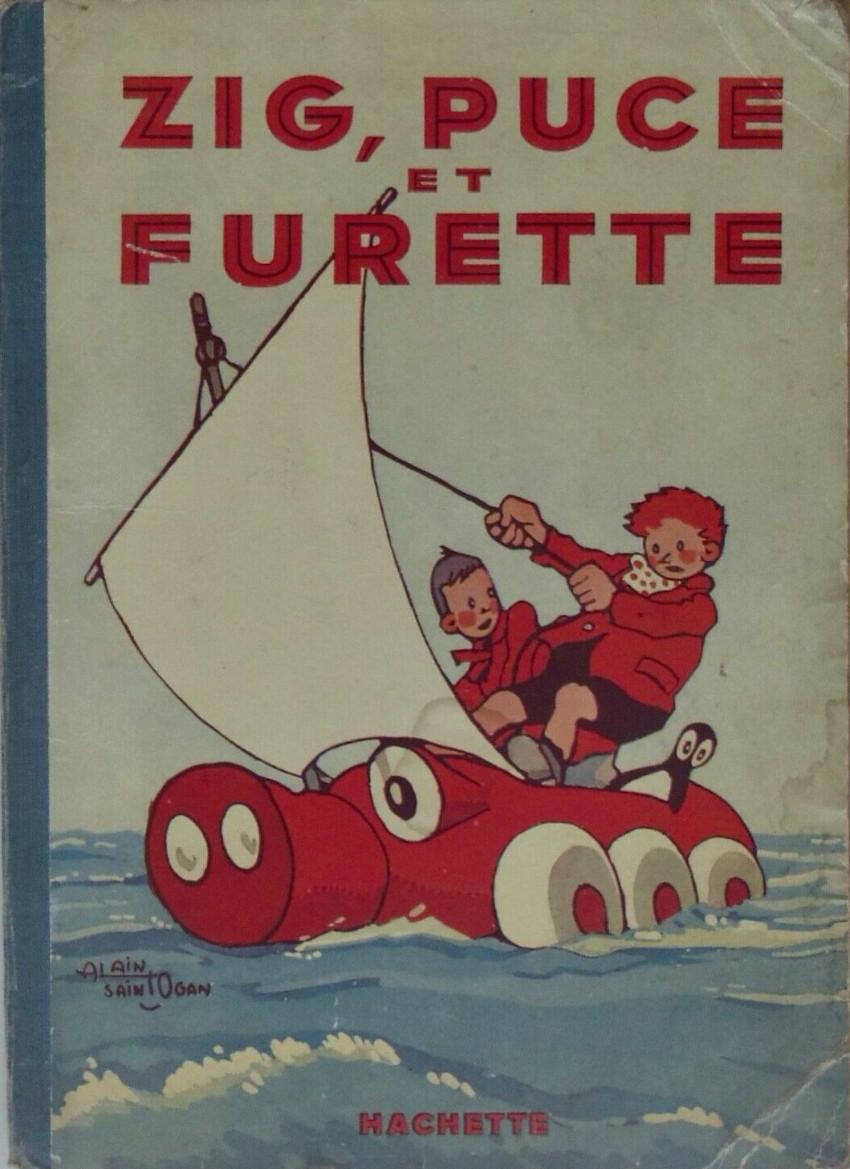Couverture de Zig et Puce (Hachette) -7- Zig, Puce et Furette
