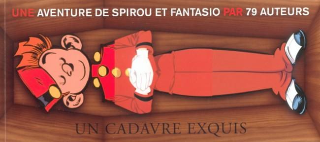 Couverture de Spirou et Fantasio -2- (Divers) -MR3800- Un cadavre exquis