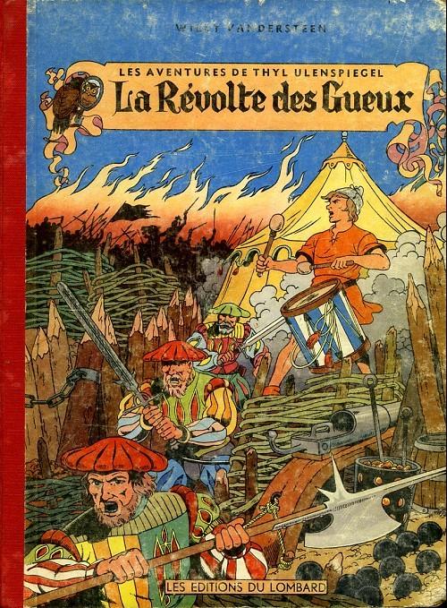 Couverture de Thyl Ulenspiegel (Les Aventures de) -1- La Révolte des Gueux