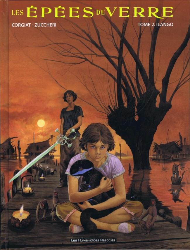 Couverture de Les Épées de verre -2- Ilango
