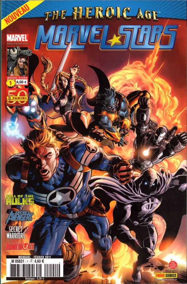 Couverture de Marvel Stars -1- Histoires secrètes