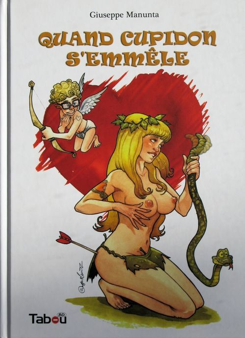 Couverture de Les 5 sens d'Eros -3- Quand Cupidon s'emmêle