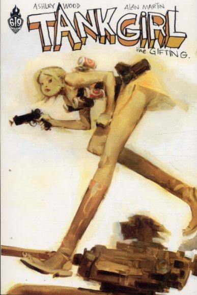 Couverture de Tank Girl -5- Tank Girl : The gifting
