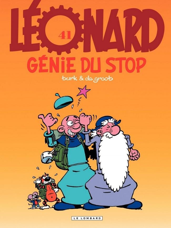 Couverture de Léonard -41- Génie du stop