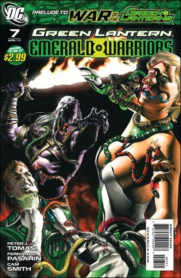 Couverture de Green Lantern: Emerald warriors (2010) -7- Last will part 7 : seeing red