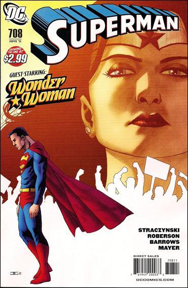 Couverture de Superman (1939) -708- Grounded part 6