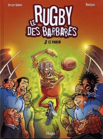 Couverture de Les barbares -3- Le Coach