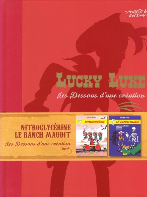 Couverture de Lucky Luke - Les Dessous d'une création (Atlas) -18- Nitroglycérine / Le Ranch Maudit