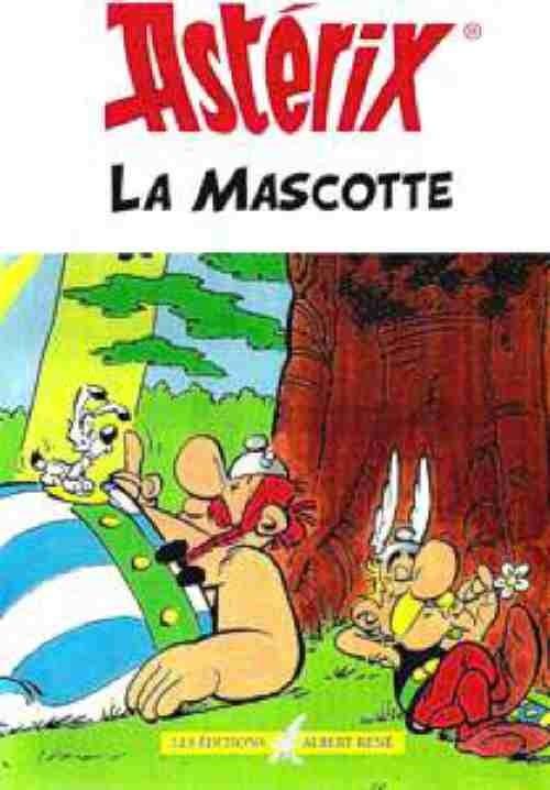 Couverture de Astérix (Hors Série) -8- La mascotte