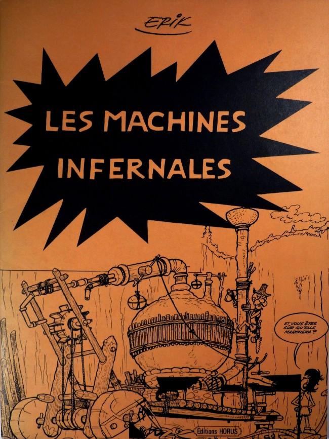 Couverture de Les machines infernales