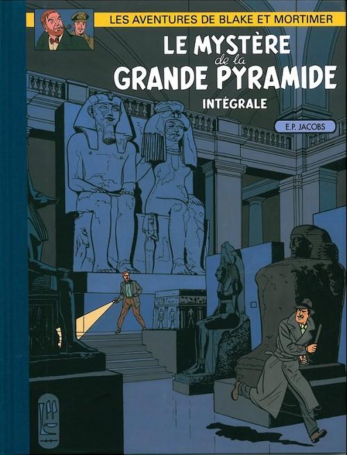 Couverture de Blake et Mortimer (France Loisirs) -INT2- Le Mystère de la Grande Pyramide