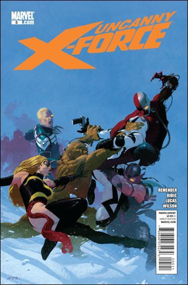 Couverture de Uncanny X-Force (2010) -5- Deathlock nation part 1
