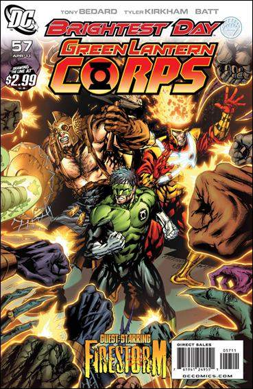 Couverture de Green Lantern Corps (2006) -57- The weaponer part 5