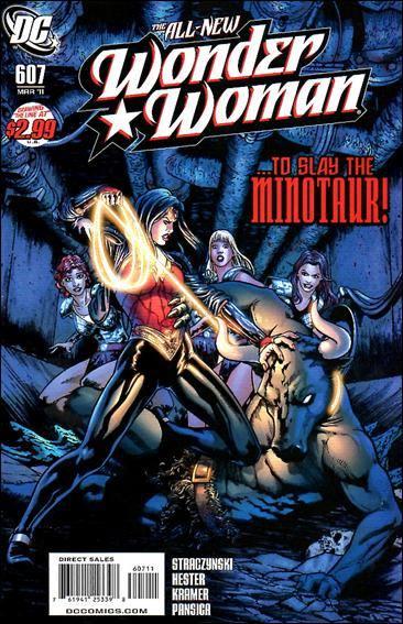 Couverture de Wonder Woman Vol.1 (DC Comics - 1942) -607- Odyssey part 7 : the labyrinth